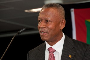 Leader of the NDC Tillman Thomas