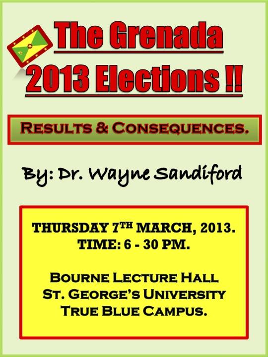 Wayne Sandiford Presentation