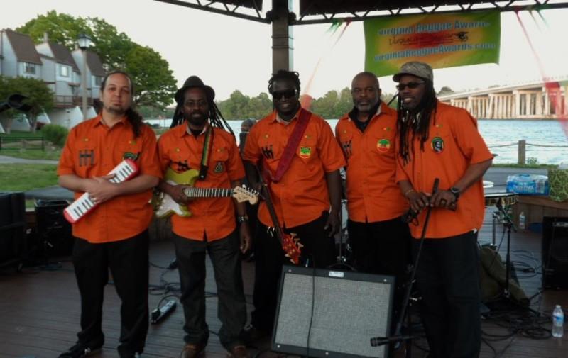 Ajamu and his band