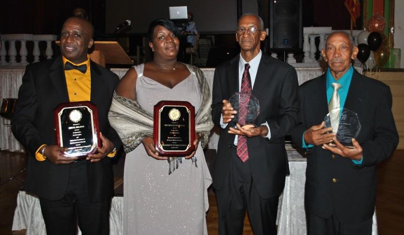 Commancheros gala all the awardees