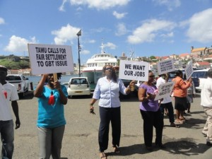 GBT workers takes industrial action