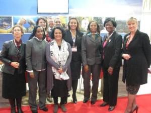 Some of Grenada's delegates at WTM 2013