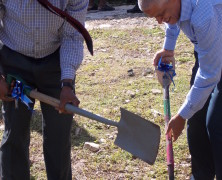 Sod Turning Ceremony For the Reconstruction Of The Top-Hill Senior Citizen Home