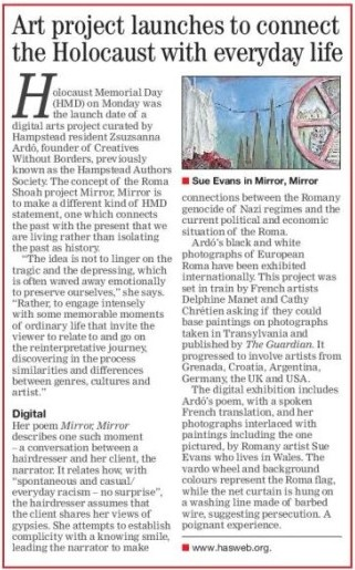 H&H Express article (detail)
