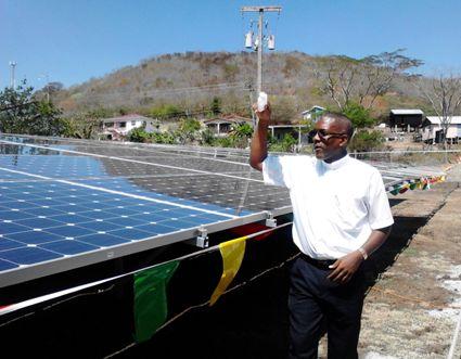 Fr Carl Haynes blessing the panels