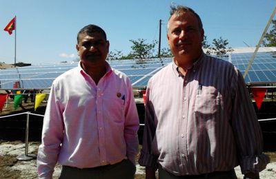 Grenlec's Interim CEO Clive Hosten and Chairman Robert Blanchard