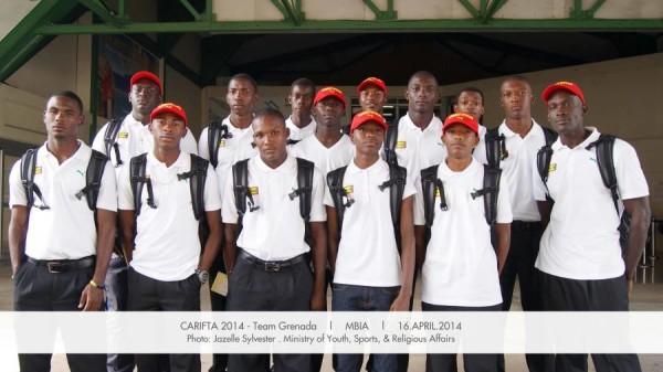 2014 Grenada CARIFTA Team