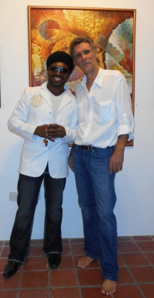 Prensnelo with Erik Johnson of the Caribbean Art project