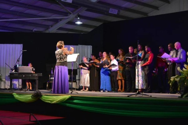 Choir Conducted by Valerie Daniel, Voice Specialist and Singer