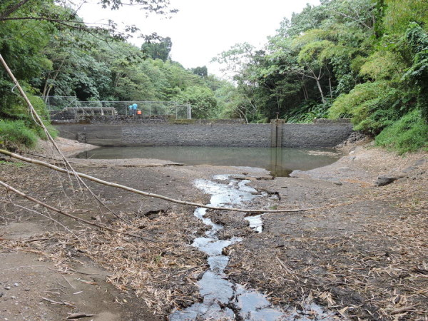 Current condition of the Les Avocat Water Treatment Plant