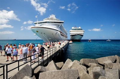 The Cruiseship industry is part of the blue economy