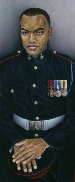 Johnson Gideon Beharry by Emma Wesley. NPG 6803.