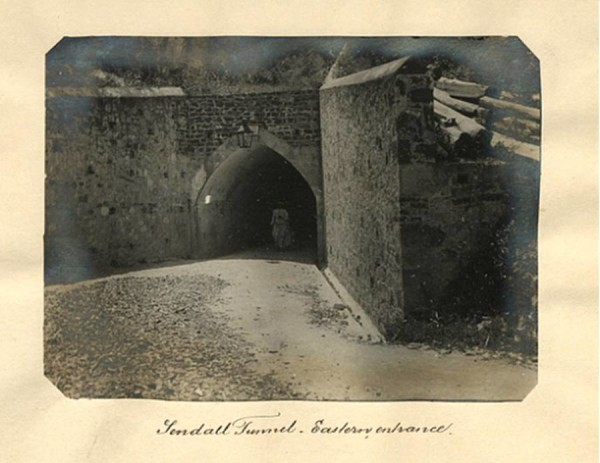 Sendall Tunnel eastern entrance (from Monckton Street)