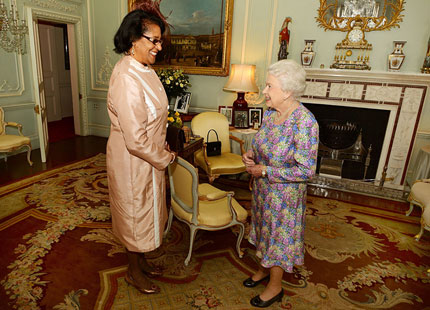 Private Audience with Her Majesty QE II 9 July 2014
