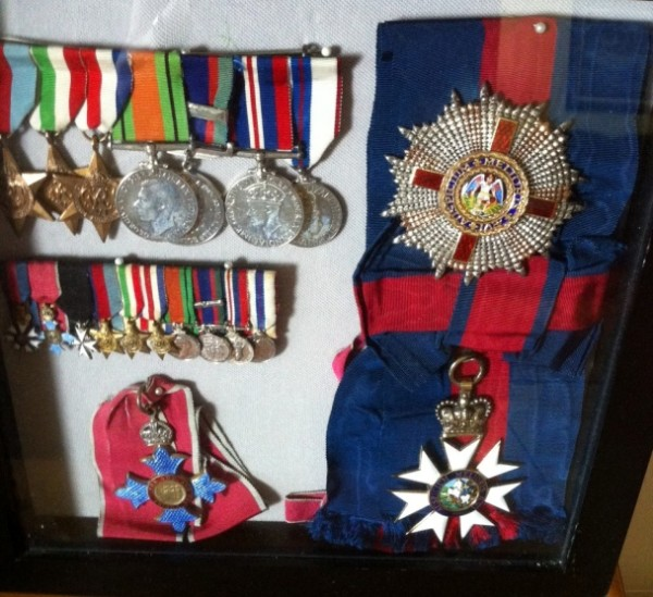Medals of Sir Leo De Gale