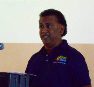 Roland Baldeo, Fisheries Division