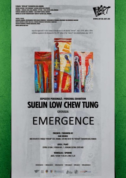 Poster for Inter-Art Solo Exhibition - Emergence
