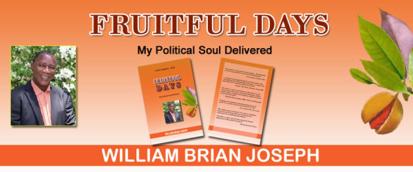 'Fruitful Days' My Political Soul Delivered by William Joseph