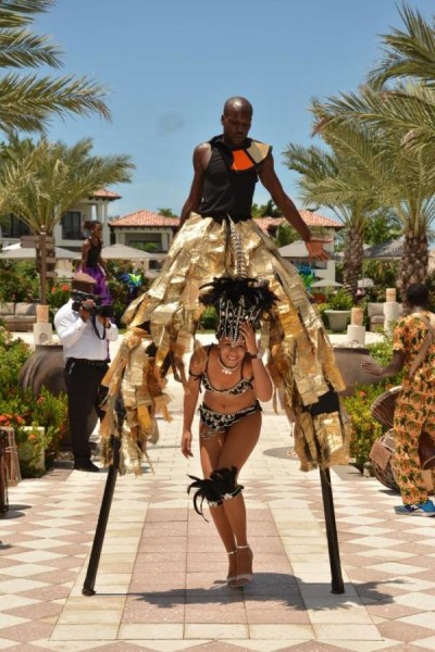 A taste of Grenada's Moko Jumbie and Fancy Mas
