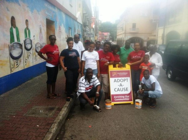 CIBC FIrst Caribbean Staff and RGPF Team