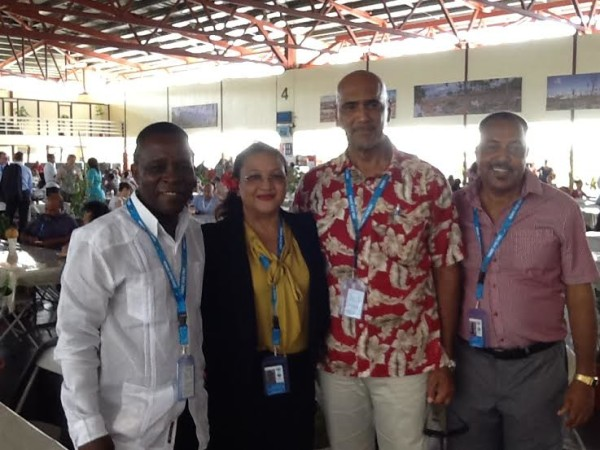 PM Mitchell, Trotman-Joseph and other Grenadian delegates