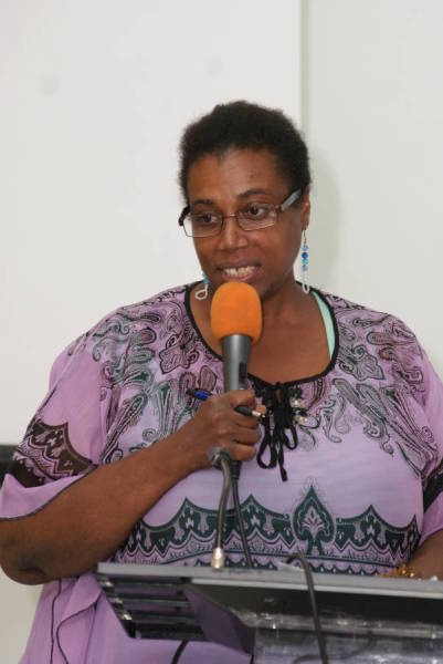Linda Straker, Journalist and Facilitator for Introduction to Media and Journalism