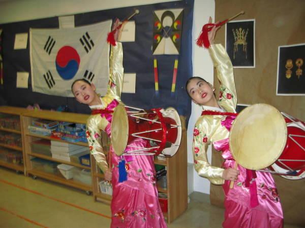 Sounds of Korea performance at Dalton School NYC, February 2014. Photo - Korean Performance Arts Center website