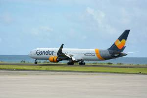 Condor Airlines return to Grenada on 8 November 2014