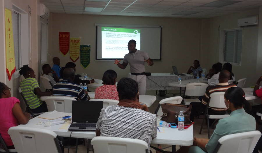Day 1 -DIB-  MAREP Staff Presenting to DIB Training Participants