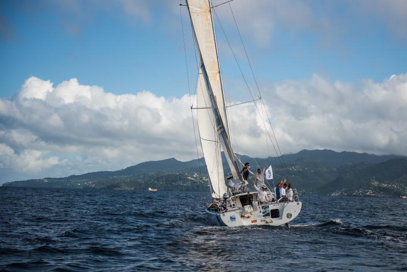 Marc Lepesqueux's Sensation Class 40 arrives in Grenada - RORC/Arthur Daniel & Orlando K Romain