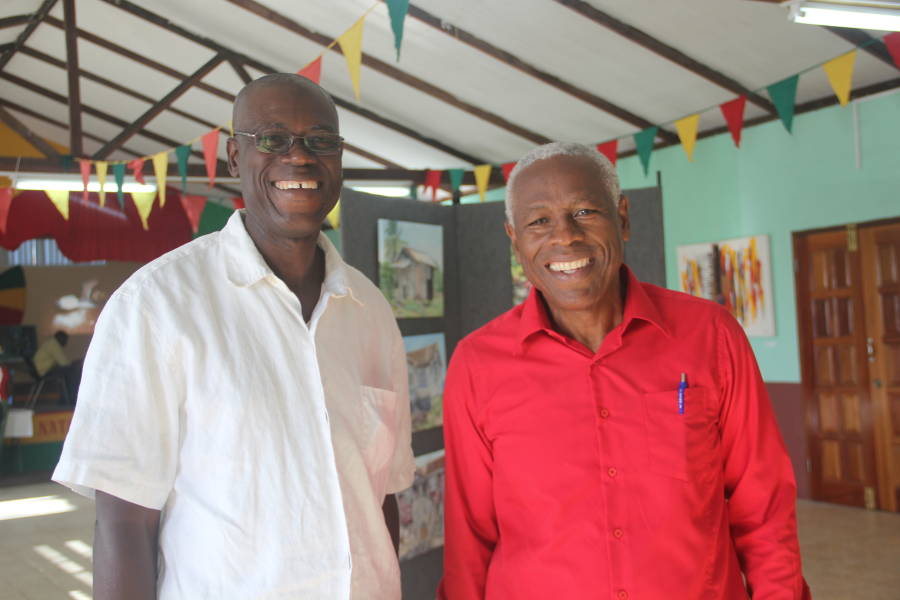Oliver Benoit and Hon. Gregory Bowen
