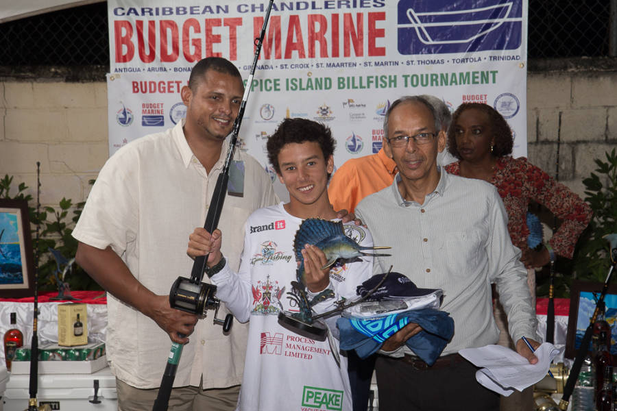 Top Junior Angler Isiah Aleong