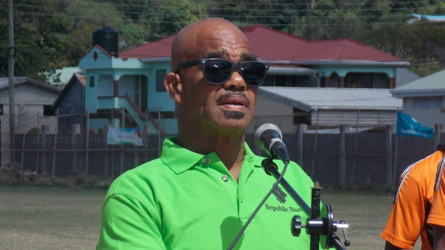 President of the Carriacou United Cricket Board Brian  Whyte