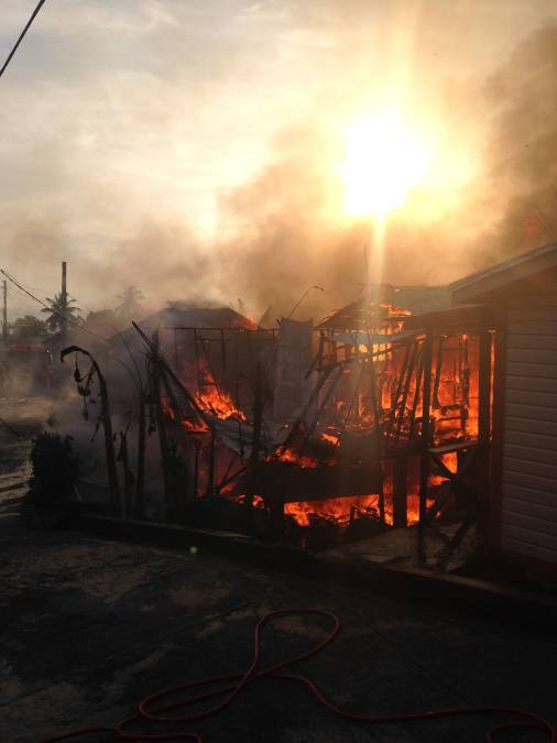 Fire at Fontenoy