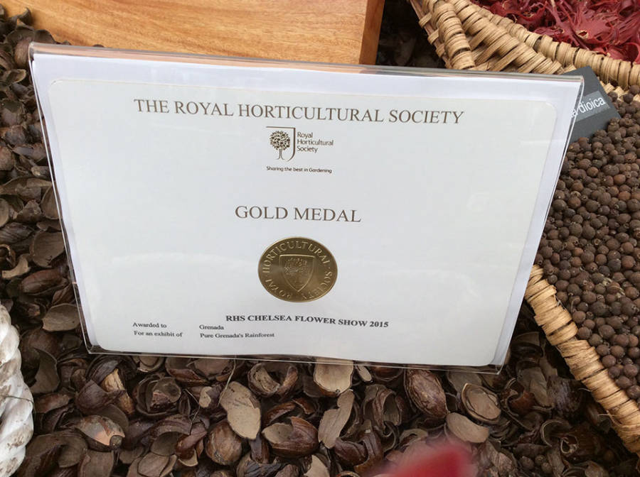 RHS-Chelsa-Flower-Show-2015-Pure-Grenada's-Rainforest-Gold-Medal