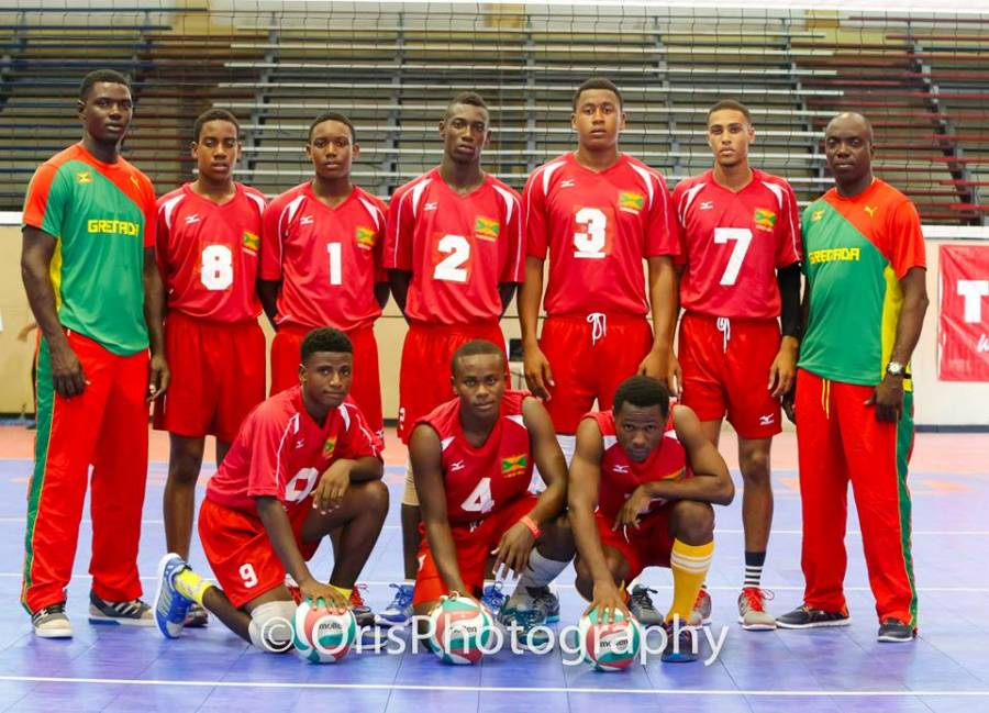 Grenada's men's national ​under-19 volleyball team