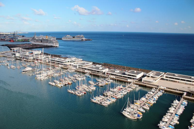 The new Marina Lanzarote, Arrecife will host the start of the second RORC Transatlantic Race on  Saturday 28 November © James Mitchell/Calero Marinas