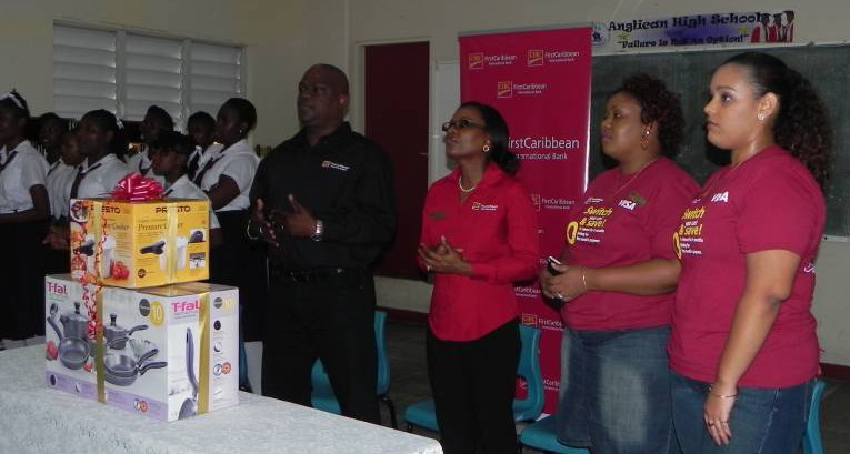 CIBC FirstCaribbean joined Students and Teachers for Assembly