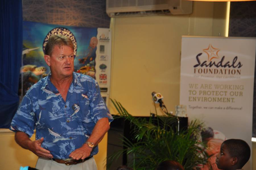 Dr Guy Harvey of the Guy Harvey Foundation
