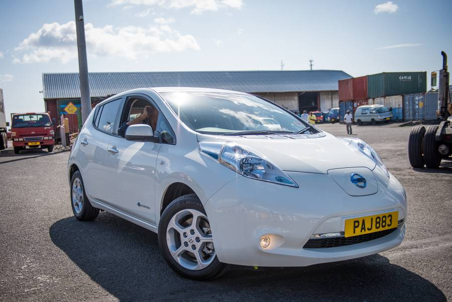Nissan LEAF — EV