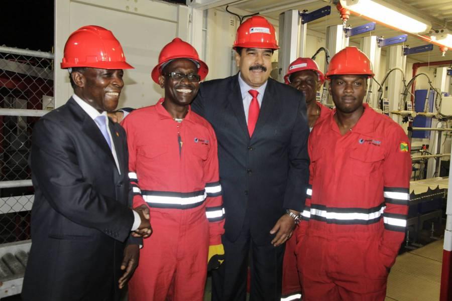 President Maduro & Hon. Keith Mitchell