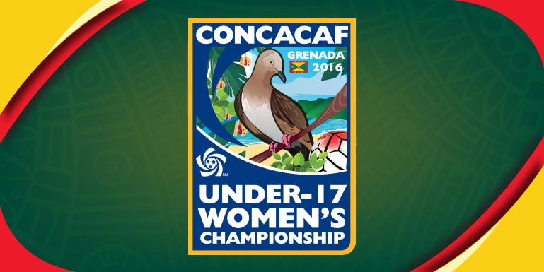 CONCACAF U17 Women's Championship logo 2016 Grenada