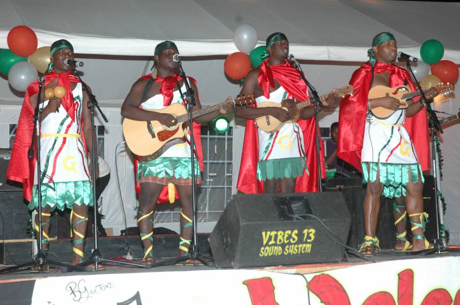 2014 Carriacou Parang Champion Ghetto Youths