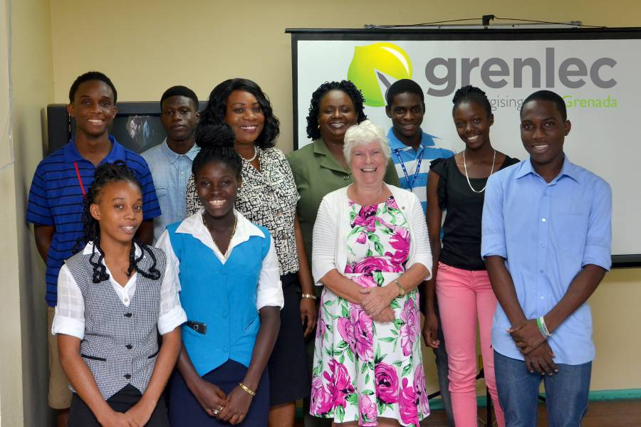 Grenlec Hands Over to J J Robinson Officials and Students