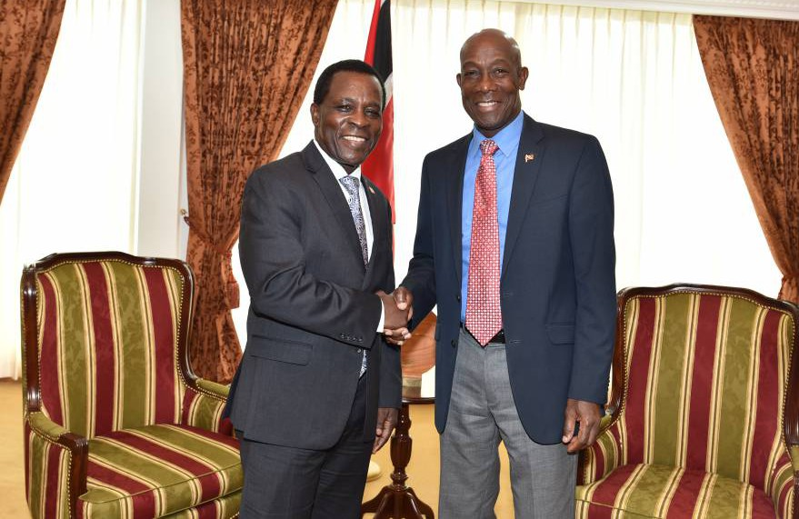 PM of Trinidad and Tobago Meets with the PM of Grenada