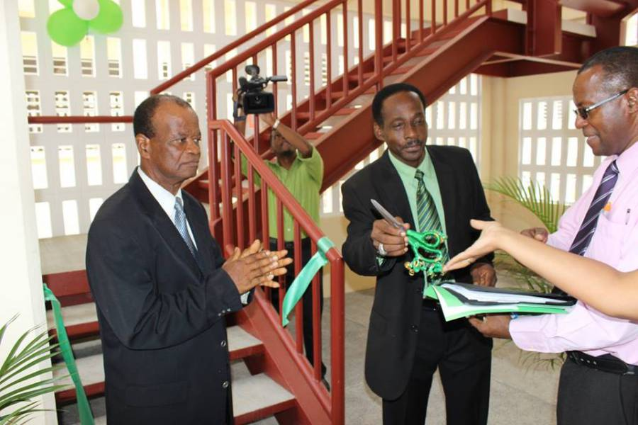 Ribbon Cutting in Technical Block_GBSS