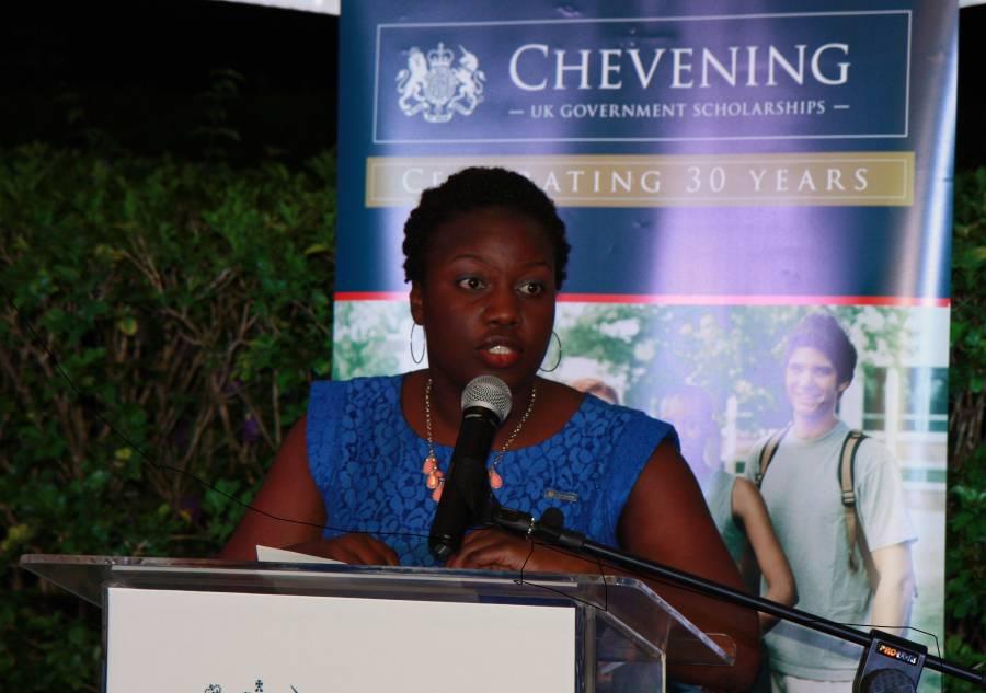 Shena-Ann Ince Barbados Chevening Alumna