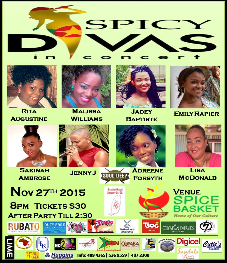 Spice Divas flyer