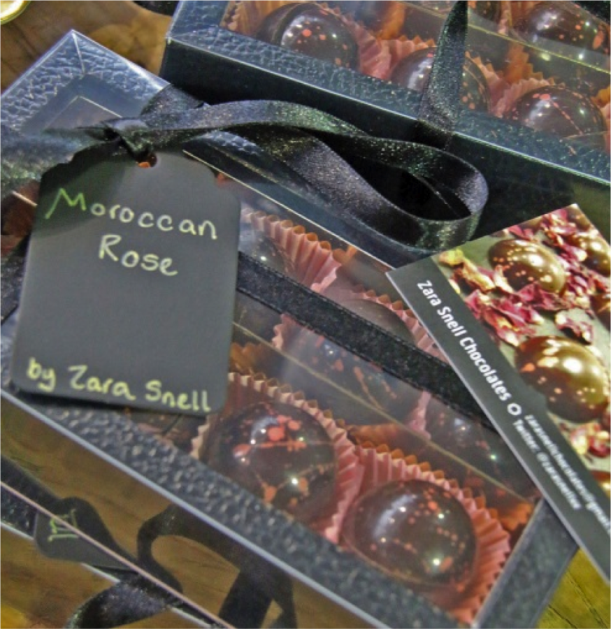 Moroccan Rose Chocolate