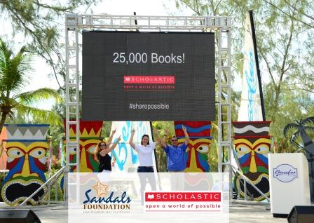 Sandals Foundation Scholastic Partnership lauch